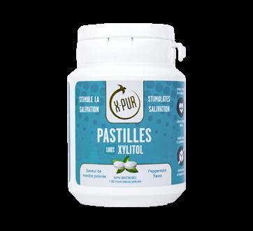 Pastilles 100% Xylitol, 130 units, Peppermint