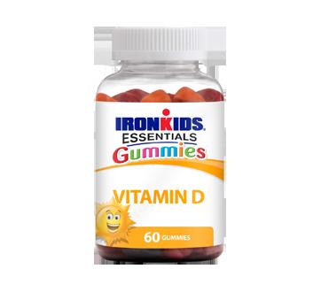 Image of product Iron Kids Essentials Gummies - Vitamin D Gummies, 60 units