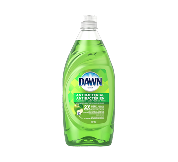Dawn Ultra Antibacterial Hand Soap Dishwashing Liquid, 532 ml, Apple Blossom Scent