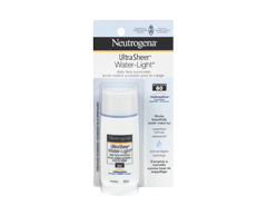 Image of product Neutrogena - Ultra Sheer Water-Light Daily Face Sunscreen SPF 60, 40 ml