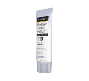 Image 7 of product Neutrogena - Ultra Sheer Dry-Touch Sunscreen SPF 110, 88 ml