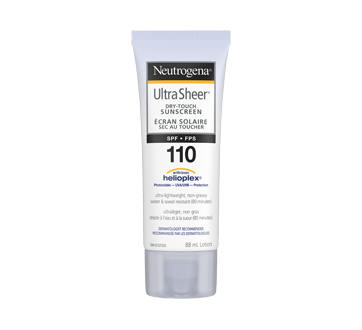 Image 8 of product Neutrogena - Ultra Sheer Dry-Touch Sunscreen SPF 110, 88 ml