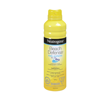 Beach Defense SPF 60 Children's Spray Sunscreen, 184 g