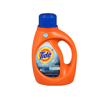 HE Turbo Clean Cold Water Liquid Laundry Detergent, 1.09 l, Fresh Scent