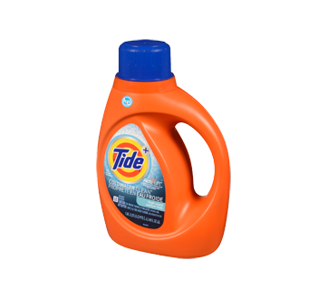 Image 3 of product Tide - HE Turbo Clean Cold Water Liquid Laundry Detergent, 1.09 l, Fresh Scent