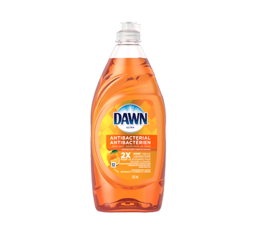 Dishwashing detergent and antibacterial hand soap, 532 ml, Orange