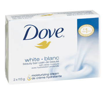 Image 1 of product Dove - Beauty Bar, 2 x 113 g, White