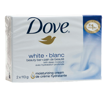 Image 2 of product Dove - Beauty Bar, 2 x 113 g, White