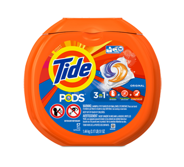 Tide Pods Laundry Detergent 57 Capsules