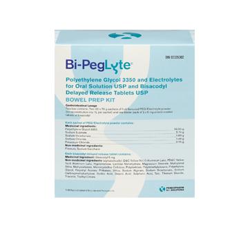 Image 1 of product Bi-Peglyte - Bi-Peglyte bowel preparation kit, 1 unit