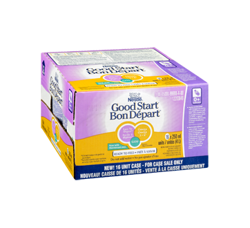 Image 2 of product Nestlé - Good Start 1 with omega and GOS Ready to Feed, 16 x 250 ml