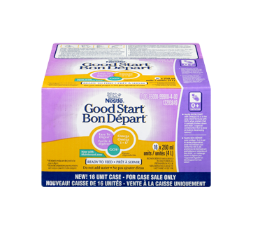 Image 3 of product Nestlé - Good Start 1 with omega and GOS Ready to Feed, 16 x 250 ml