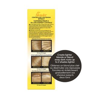 Image 2 of product John Frieda - Sheer Blonde Go Blonder Lightening Spray, 250 ml