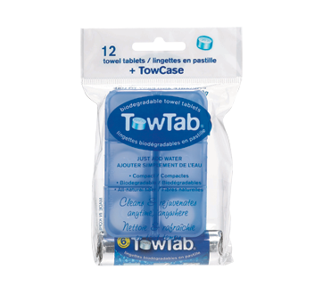 Biodegradable Towel Tablets, 12 units