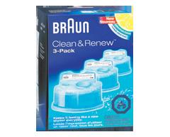 clean renew cart shaver refills 3 units braun. Black Bedroom Furniture Sets. Home Design Ideas