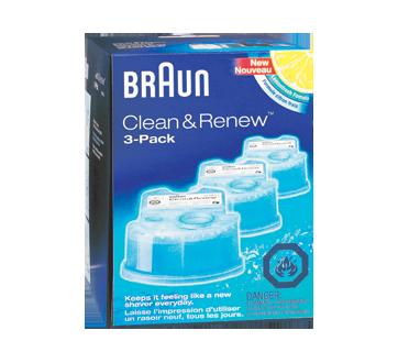 Clean&Renew Cart Shaver Refills, 3 units