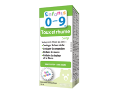 Image of product Homeocan - Kids 0-9 Cough & Cold Syrup, 100 ml, fruit