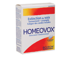 Image of product Boiron - Homeovox, 60 Tablets