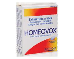 Image of product Boiron - Homeovox, 60 units