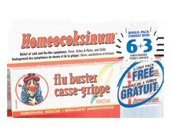 Image of product Homeocan - Homeocoksinum Flu Buster, 6 + 3 units