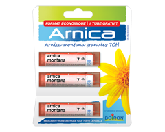 Image of product Boiron - Arnica + 1 free blister, 3x 80 pellets