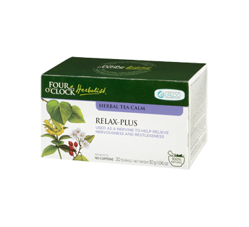 Image 1 of product Four O'Clock Herboriste - Herbal Tea Relax-plus, 20 units