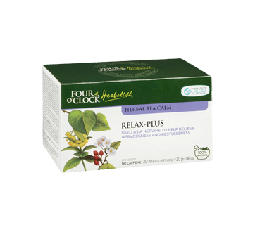 Image 2 of product Four O'Clock Herboriste - Herbal Tea Relax-plus, 20 units