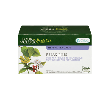 Image 3 of product Four O'Clock Herboriste - Herbal Tea Relax-plus, 20 units