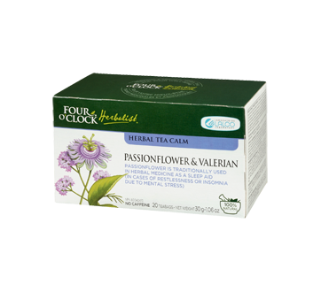 Image 3 of product Four O'Clock Herboriste - Herbal Tea Calm, 20 units, Passionflower & Valerian