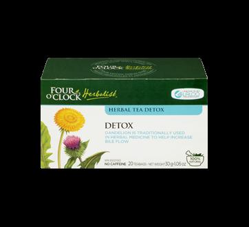 Image 1 of product Four O'Clock Herboriste - Herbal Tea Detox, 20 units
