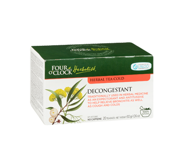 Image 2 of product Four O'Clock Herboriste - Herbal Tea, 20 units, Decongestant