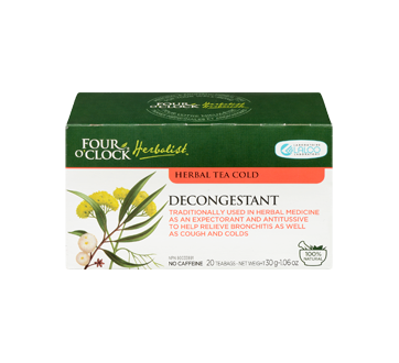 Image 3 of product Four O'Clock Herboriste - Herbal Tea, 20 units, Decongestant