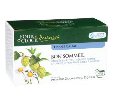Image of product Four O'Clock Herboriste - Herbal Tea Good Night, 20 units