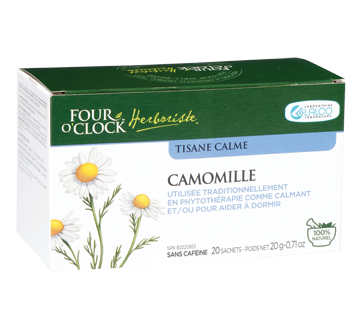 Image of product Four O'Clock Herboriste - Herbal Tea, 20 units, Chamomile