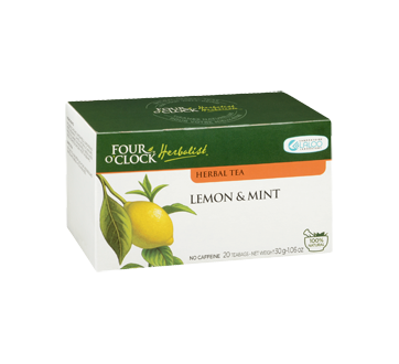 Image 2 of product Four O'Clock Herboriste - Herbal Tea, 20 units, Lemon & Mint