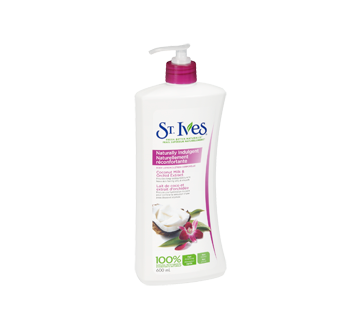 Image 2 of product St. Ives - Naturally Indulgent Body Lotion, 600 ml, Coconut Milk & Orchid Extract
