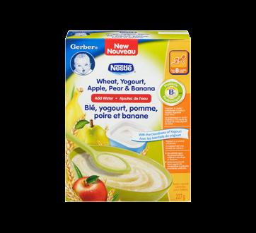 Image 3 of product Gerber - Gerber Wheat, Yogurt, Apple, Pear & Banana, 227 g