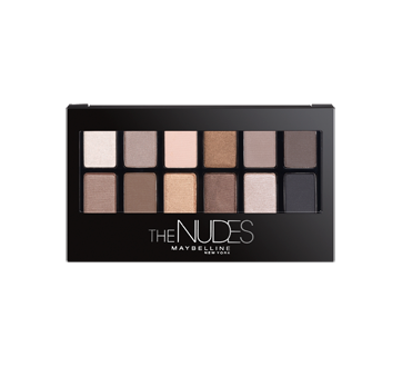 Image 1 of product Maybelline New York - Expert Wear Eyeshadow Palette, 9.6 g, The Nudes