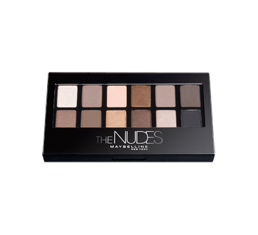 Image 2 of product Maybelline New York - Expert Wear Eyeshadow Palette, 9.6 g, The Nudes