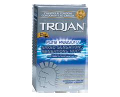 Lubricated Condom with Spermicide, 12 units – Trojan