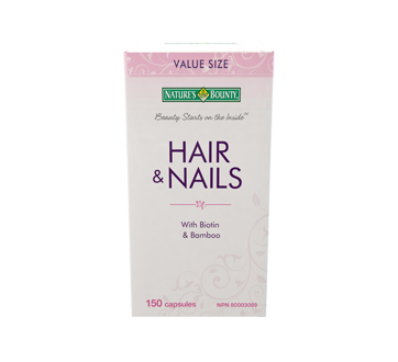 Image 1 of product Nature's Bounty - Hair & Nails Capsules, 150 units