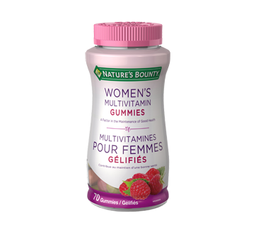 Image of product Nature's Bounty - Women's Multivitamin Gummies, 70 units