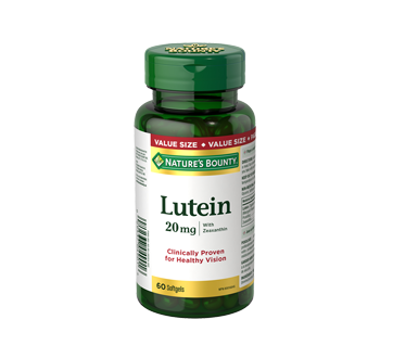 Image of product Nature's Bounty - Lutein 20 mg, 60 units