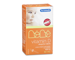 Image of product Personnelle - Bébé Vitamin D Drops for Infants, 400 IU, 50 ml