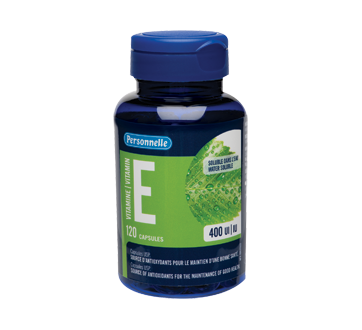 Image of product Personnelle - Vitamin E Water Soluble, Capsules 400 IU, 120 units