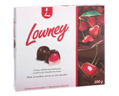 Image of product Hershey - Lowney Maraschino Cherries, 200 g