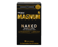 Image of product Trojan - Magnum Naked Sensations Lubricated Condoms, 10 units
