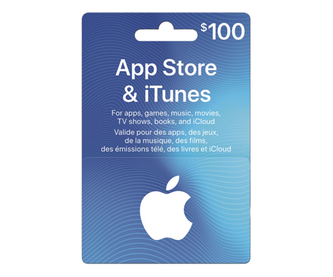 100 itunes gift card incomm gift cards jean coutu. Black Bedroom Furniture Sets. Home Design Ideas