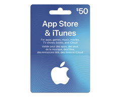 Image of product Incomm - $50 iTunes Gift Card