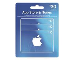 Image of product Incomm - $30 Multi-Pack iTunes Gift Card